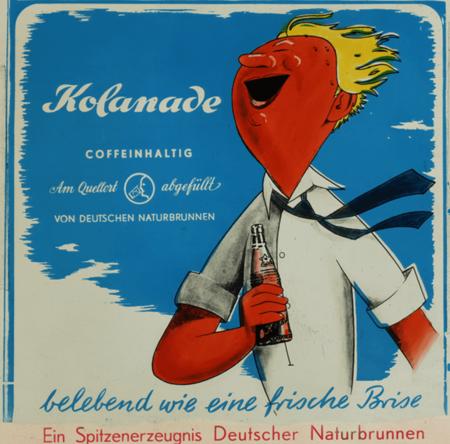 1937: Werbemotiv Kolanade