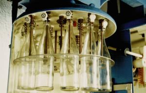 0,7-Liter-Flasche mit Hebelverschluss