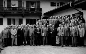 1953: Brunnentag in Bad Wiessee
