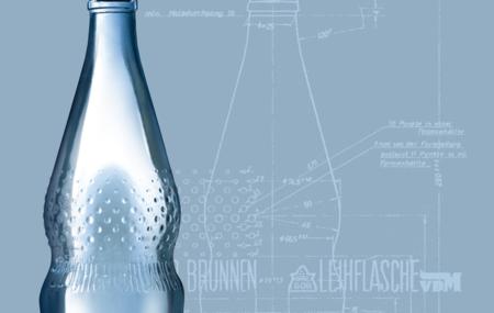 Designklassiker Perlenflasche