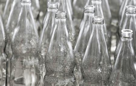 70er - Perlenflasche in der Gussform