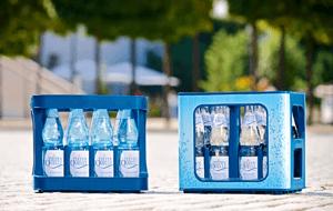GDB - Mineralwasse Glas PET
